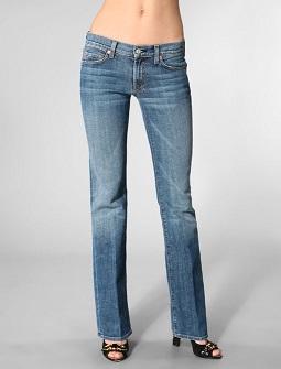 Vsaďte na boot cut jeans